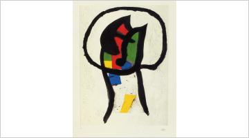 Contemporary art exhibition, Joan Miró, Estampes at Galerie Lelong & Co. Paris, 13 Rue de Téhéran, Paris
