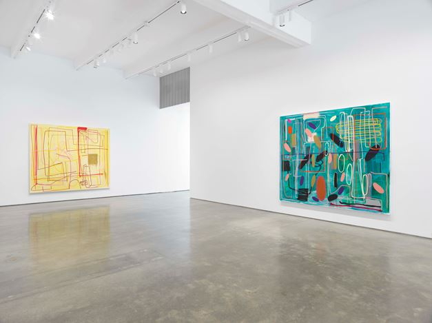 Exhibition view: André Butzer, Metro Pictures, New York (4 June–9 August 2019). Courtesy the artist and Metro Pictures, New York.