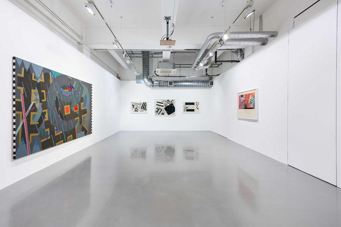 Exhibition view: Robert Reed,San Romano Series, Pilar Corrias, London (12 April–18 May 2019). Courtesy the artist and Pilar Corrias. Photo: Damian Griffiths.