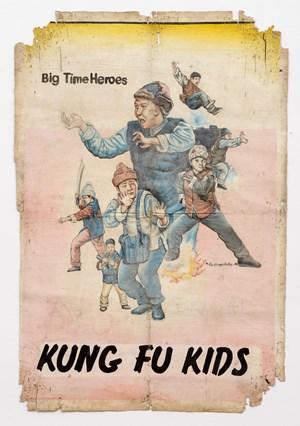 Kung Fu Kids 《好小子》 by Alex Nkrumah Boateng contemporary artwork