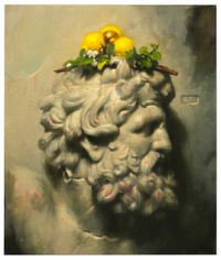 Heavy Lemons by Stephen Appleby-Barr contemporary artwork painting, works on paper