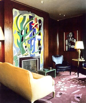 Fireplace Mural (untitled) by Fernand Léger contemporary artwork