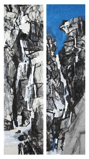 Landscape - Water, Rocks/ Landscape - Sky, Water by Wang Gongyi contemporary artwork