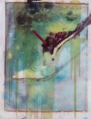 Untitled (Chinese) by Julian Schnabel contemporary artwork