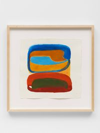 Untitled (Square Study #3) by Joanna Pousette-Dart contemporary artwork painting, works on paper