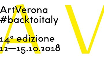 Contemporary art exhibition, ArtVerona 2018 at Dep Art Gallery, Verona, Italy