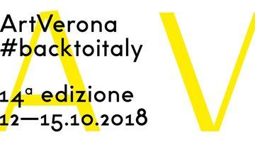 Contemporary art exhibition, ArtVerona 2018 at Dep Art Gallery, Milan