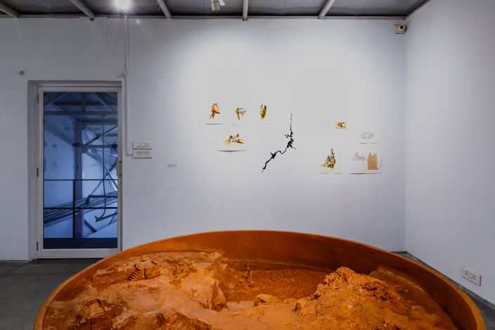 Exhibition view: Sahil Naik, All is water, and to water we must return, Experimenter, Ballygunge Place (21 April–30 June 2021). Courtesy Experimenter.