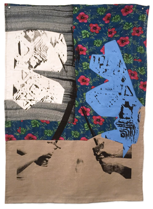 Ø6 (The Two of Swords) by Shezad Dawood contemporary artwork