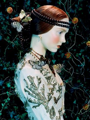 Like a Painting #1 by Miles Aldridge contemporary artwork