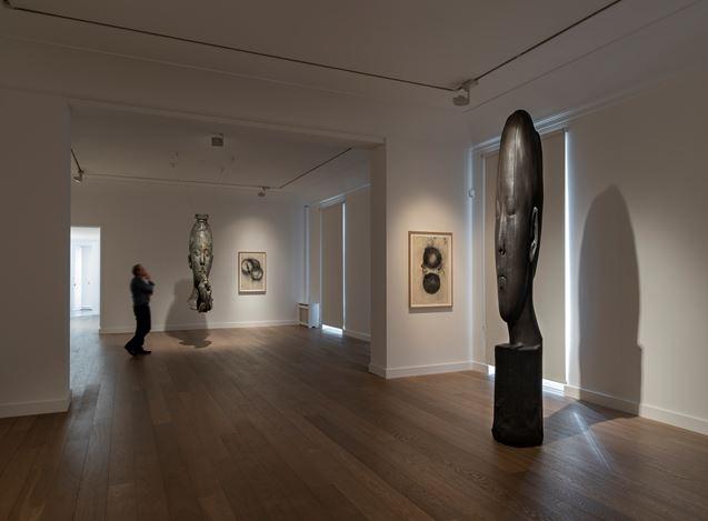 Exhibition view: Jaume Plensa, Galerie Lelong & Co., 13 Rue de Téhéran, Paris (10 October–16 November 2019). Courtesy Galerie Lelong & Co. Paris.