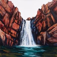 Rapid Falls by Neil Frazer contemporary artwork painting