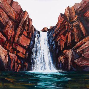 Rapid Falls by Neil Frazer contemporary artwork