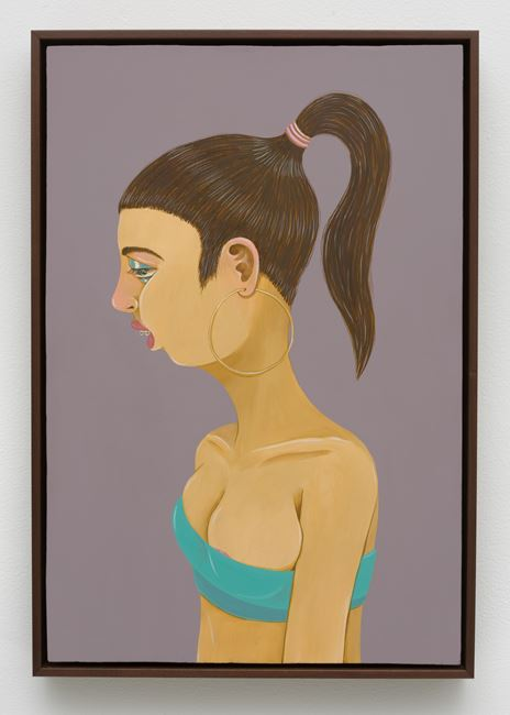 Girl with Braces by Ed Templeton contemporary artwork
