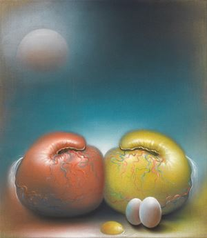 Le Monde by Bernhard Martin contemporary artwork