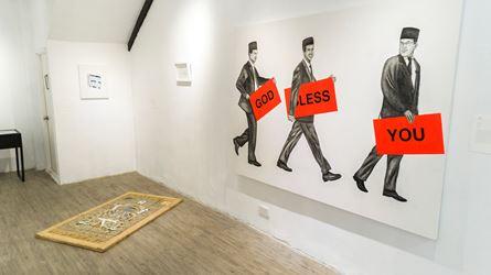Exhibition view: Engku Iman, Rukun Iman, A2Z Art Gallery, Hong Kong (20 September–21 October 2018).Courtesy A2Z Gallery, Hong Kong.