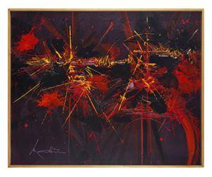 Fleuve de gloire by Georges Mathieu contemporary artwork