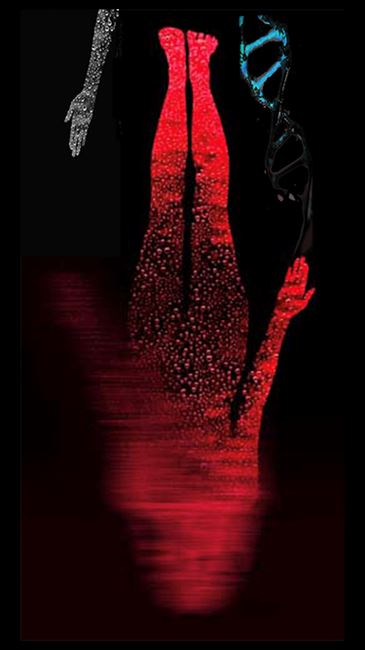 Twisted Gravity by Lynn Hershman Leeson contemporary artwork