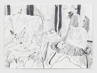 MuiMui by Chris Huen Sin Kan contemporary artwork works on paper, drawing