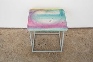 Untitled Stool 01 by Eva Rothschild contemporary artwork