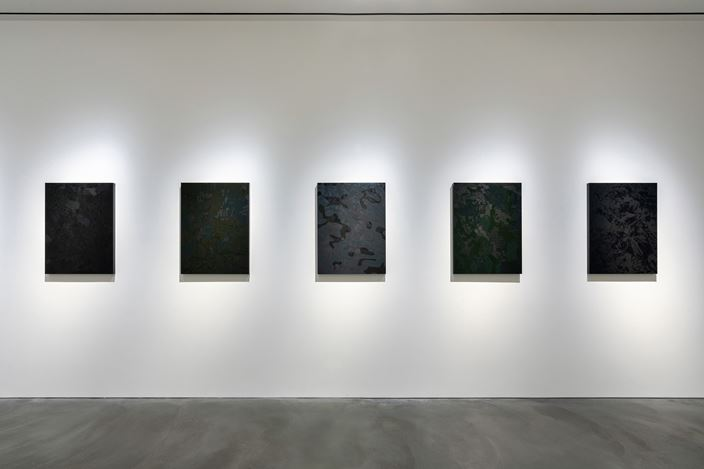 Exhibition view: Kohei Nawa, Recent Works, Pace Gallery, Hong Kong (18 July–29 August 2019). Courtesy Pace Gallery.
