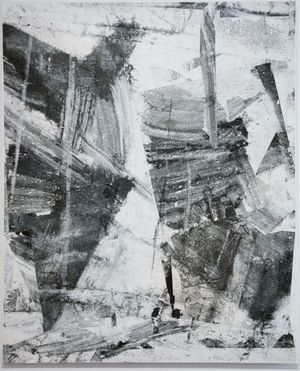 Trace of Time C by Zheng Chongbin contemporary artwork painting, works on paper, drawing
