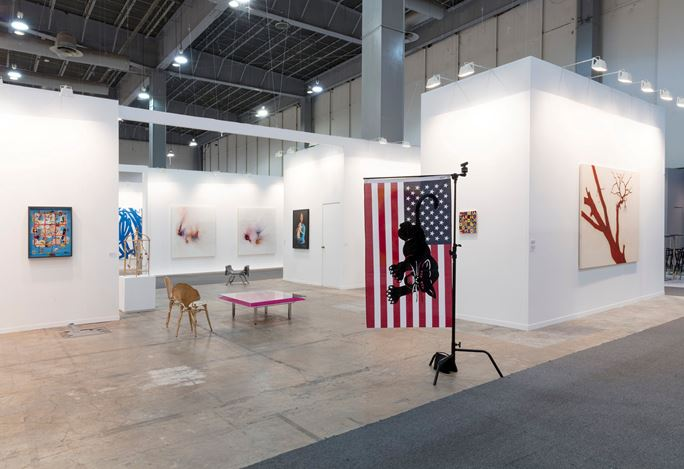 Ben Brown Fine Arts, Zona Maco, Mexico City (6–10 February 2019). Courtesy Ben Brown Fine Arts.