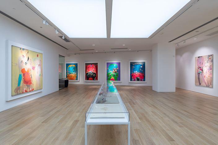 Exhibition view: Wang Yuping, Tedious Paradise, Tang Contemporary Hong Kong (22 June–28 July 2018). Courtesy Tang Contemporary.