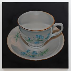 Teacup #3 by Robert Russell contemporary artwork