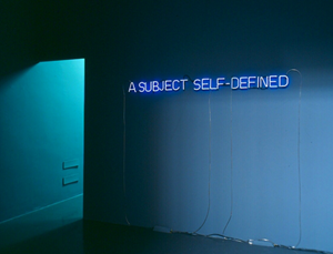 Self-Defined Subject [Violet], 1966 by Joseph Kosuth contemporary artwork