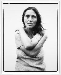 June Leaf, sculptress, Mabou Mines, Nova Scotia, July 17, 1975 by Richard Avedon contemporary artwork photography