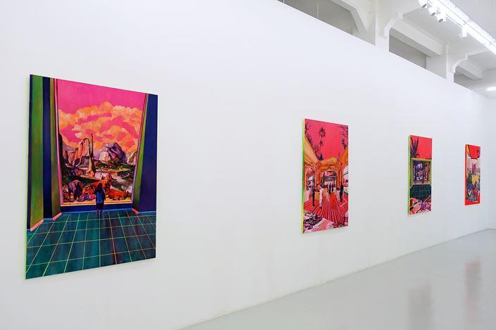 Exhibition view: Zico Albaiquni, Nostalgic Utopia, Yavuz Gallery, Singapore (28 June–14 July 2019). Courtesy Yavuz Gallery.