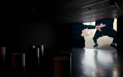 Exhibition view: Xavier Cha,Ruthless Logic, Empty Gallery, Hong Kong (27 March 2018–June 2 2018). Courtesy Empty Gallery. Photo: Michael Yu.