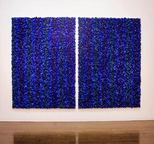 Blue on Blue - Take 2 by Dani Marti contemporary artwork