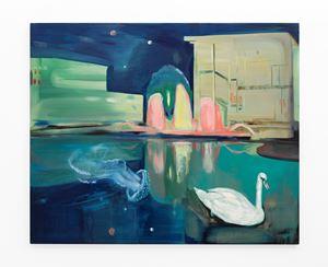 Neon Lake by Kate Gottgens contemporary artwork