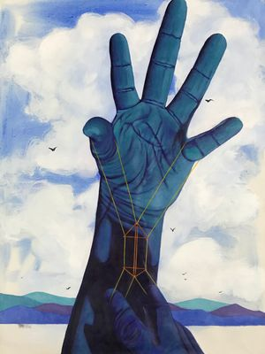 Handtrick (1) by Artist B contemporary artwork