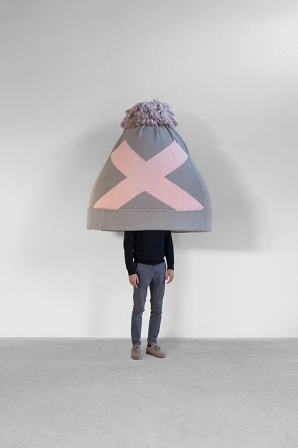 Beanie by Erwin Wurm contemporary artwork