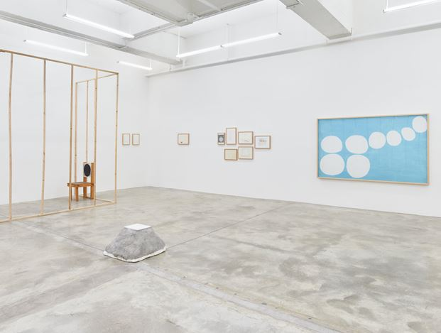 Exhibition view of Two Hours, 2016 at Tina Kim Gallery, New York. Courtesy of Tina Kim Gallery.