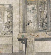 Garden Dream by Zheng Li contemporary artwork works on paper