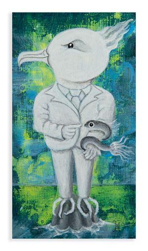 My Birds (C) by Harry Watson contemporary artwork