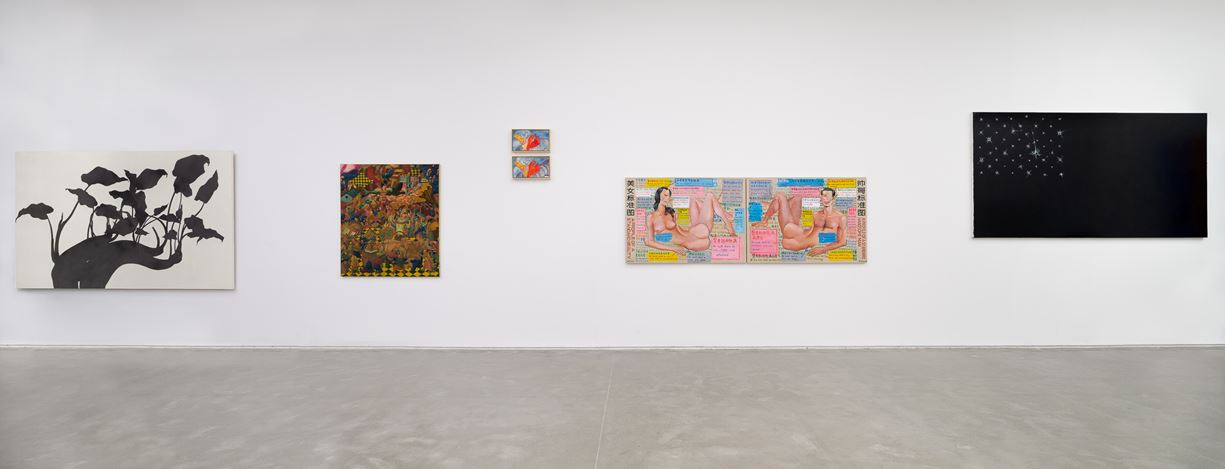 Exhibition view: Group Exhibition, Side Lanes 辅路,  ShanghART, Westbund, Shanghai (18 January–24 February 2019). Courtesy ShanghART.