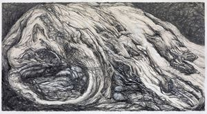 My Father's Rock #2 by Shi Jin-Hua contemporary artwork painting, works on paper, drawing