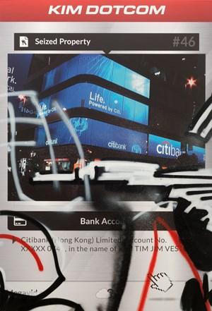 The Personal Effects of Kim Dotcom: Seized Property #46 by Simon Denny contemporary artwork