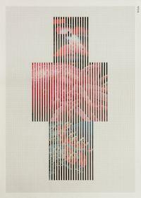 Discrete Model Number 023 by Goshka Macuga contemporary artwork mixed media