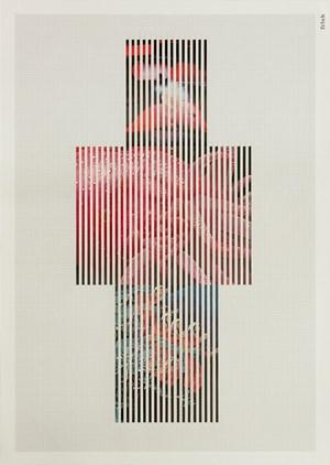 Discrete Model Number 023 by Goshka Macuga contemporary artwork