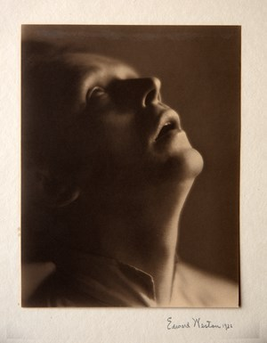 Henry Cowell, Composer by Edward Weston contemporary artwork