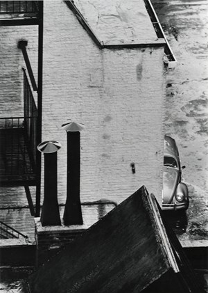 Untitled (street view) by André Kertész contemporary artwork