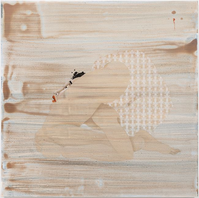 Back Bend 1 by Hayv Kahraman contemporary artwork