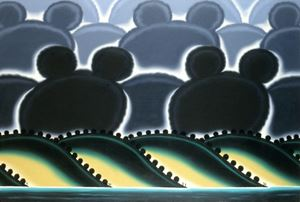 California Cloud Surprise by Roger Brown contemporary artwork painting