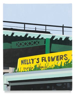 Nelly's Flowers by Brian Alfred contemporary artwork